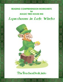 MTH43 Leprechaun In Late Winter Reading Comprehension Worksheets | eBooks | Education