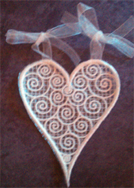 Lace Heart | Other Files | Arts and Crafts