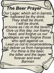 The Beer Prayer | Other Files | Arts and Crafts