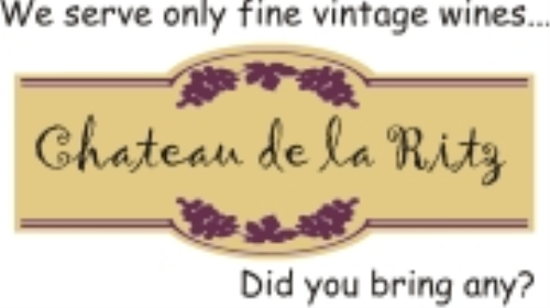 Second Additional product image for - Vintage Wine Label