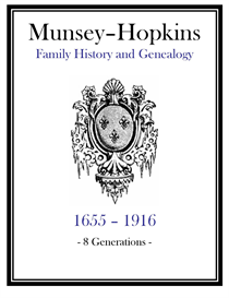 Munsey Hopkins Family History and Genealogy | eBooks | History