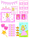 Princess Party Printables- Pink Princess