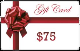 $75 Gift Card | Other Files | Documents and Forms