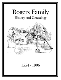 Rogers Family History and Genealogy | eBooks | History