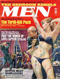 love captive stalag, from men magazine, dec. 1967