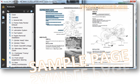 HONDA TRX450R 2004-2005 ATV Service Repair Manual   eBooks   Technical