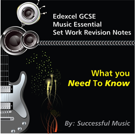 edexcel gcse music set work essential revision summary notes