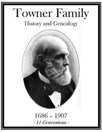 Towner Family History and Genealogy   eBooks   History