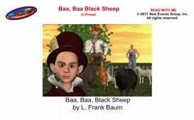 Baa, Baa, Black Sheep In Prose - Subtitled Video for iPhone | Movies and Videos | Children's
