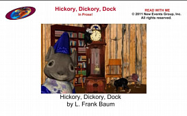 Hickory, Dickory, Dock In Prose - Subtitled Video for iPhone | Movies and Videos | Children's
