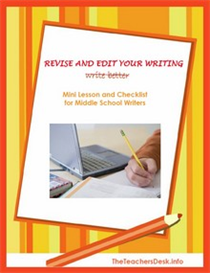 Revise & Edit Your Writing  Middle School | eBooks | Education