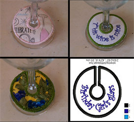 Wine Rings (VIP & VP3 formats) - 16 files included   Other Files   Arts and Crafts