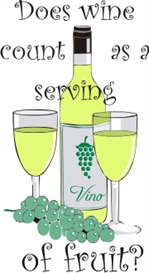 Does wine count as a serving of fruit? | Other Files | Patterns and Templates