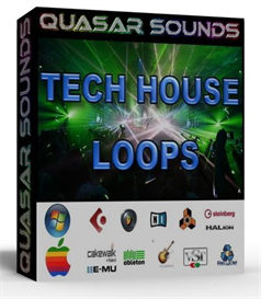 tech house - tech funk  loops  -  24 bit wav loops