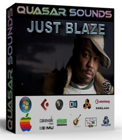 just blaze kit - drums  instruments - kontakt logic reason