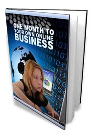 1 Month To Your Own Online Business | eBooks | Business and Money