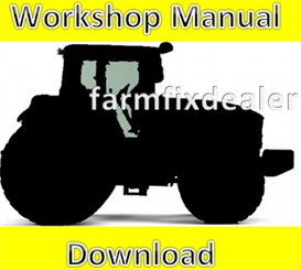 new holland 8670 8770 ford tractor service repair manual