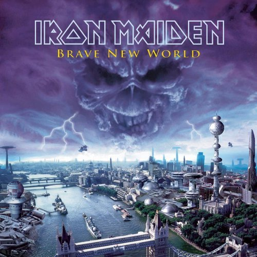 First Additional product image for - IRON MAIDEN Brave New World (2000) (COLUMBIA RECORDS) (10 TRACKS) 320 Kbps MP3 ALBUM