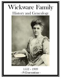 Wickware Family History and Genealogy | eBooks | History