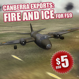 FS9_Canberra_Exports_FI_pack | Software | Games