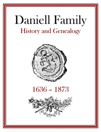 Daniell Family History and Genealogy | eBooks | History