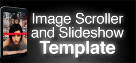 Image Scroller and Slideshow Template | Software | Design Templates