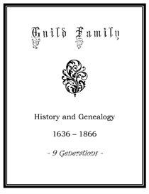 Guild Family History and Genealogy | eBooks | History