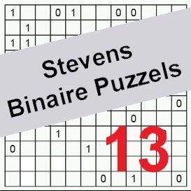binaire puzzels 13