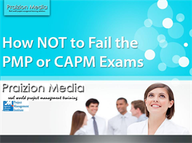how not to fail the pmp or capm exam