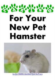 Caring For Your New Pet Hamster | eBooks | Pets