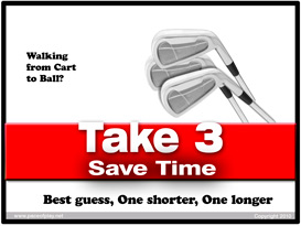 pace of play. time-savers for golf