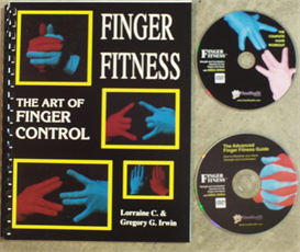 2 finger fitness videos and e-book