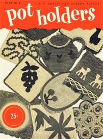 pot holders book 6 - crochet pattern ebook