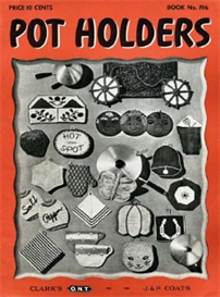 Pot Holders Book 196 - Crochet Pattern eBook | eBooks | Arts and Crafts