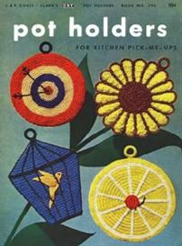 Pot Holders Book 294 - Crochet Pattern eBook   eBooks   Arts and Crafts