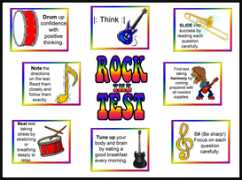 rock the test bulletin board kit