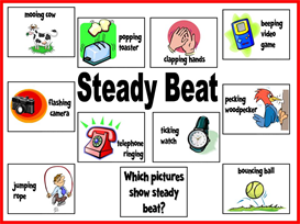 Steady Beat Bulletin Board Kit | Other Files | Patterns and Templates