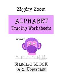 Alphabet Tracing Printable Workbook Uppercase Letters