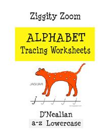 Alphabet Tracing Printable Workbook D'Nealian Lowercase Letters