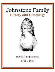 Johnstone Family History and Genealogy | eBooks | History