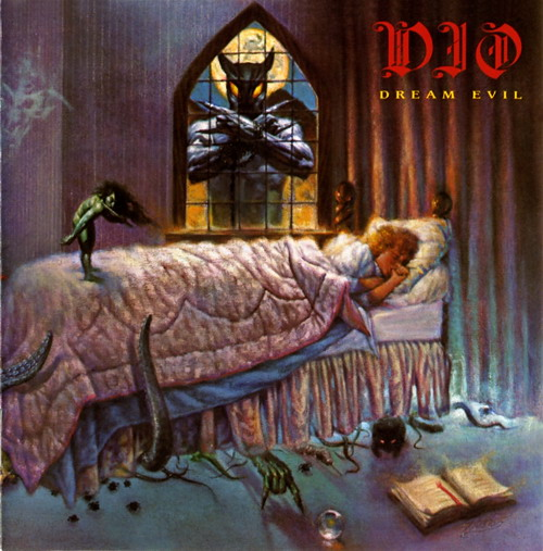 First Additional product image for - DIO Dream Evil (1987) (WARNER BROS. RECORDS) (9 TRACKS) 320 Kbps MP3 ALBUM