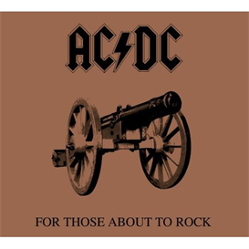 AC/DC For Those About To Rock (We Salute You) (1994) (RMST) (ATCO RECORDS) (10 TRACKS) 320 Kbps MP3 ALBUM | Music | Rock