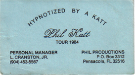 Hypnotized - Phil Thomas Katt | Music | Rock