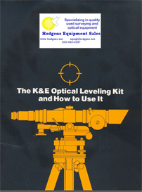 K & E Optical Leveling Kit and How to Use It | Documents and Forms | Manuals