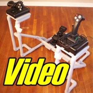 diy floor unit with side joystick video