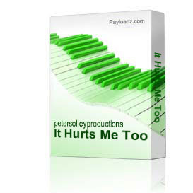 It Hurts Me Too | Music | Backing tracks