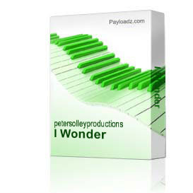 I Wonder | Music | Backing tracks