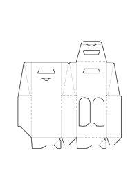 adobe illustrator ai file paper box basket crafting pattern layout diy