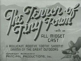 The Terror Of Tiny Town - 1938 Movie Western All Midget Cast | Movies and Videos | Action