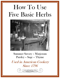 How To Use Five Basic Herbs Since 1796 | eBooks | History